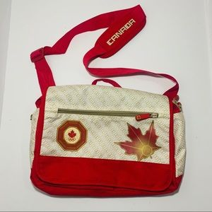 Canadian Olympic Messenger Satchel